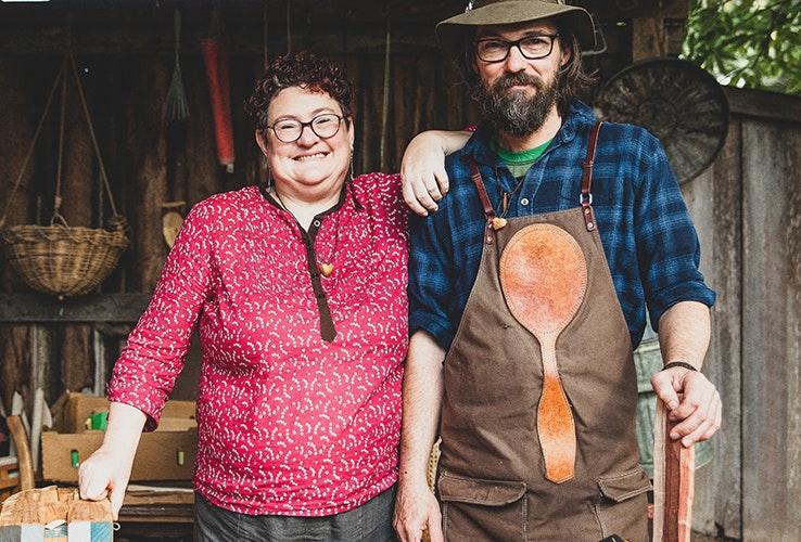 David and Michelle portrait