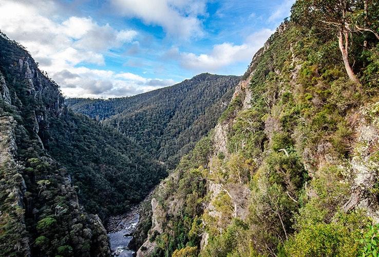 canyon in ulverstone tasmania