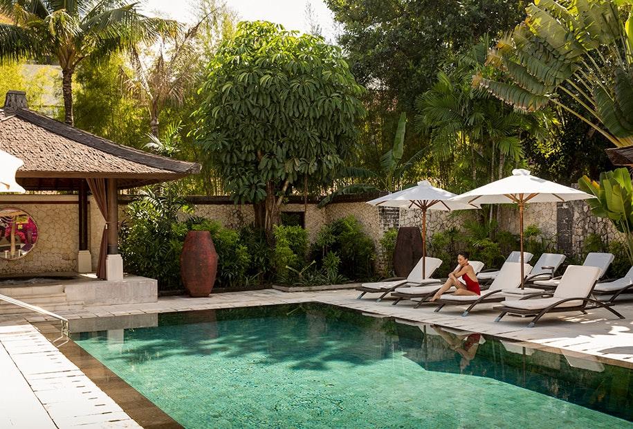 Bali resort pool