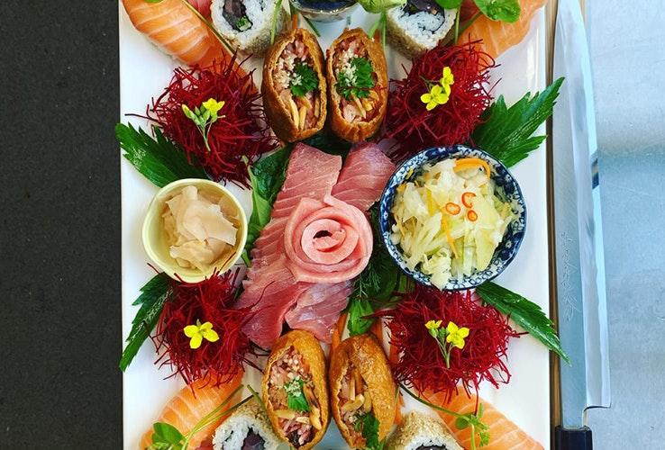 Sensational sushi platter