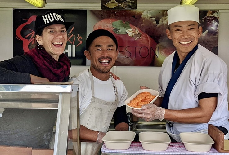 The team at Masaaki's Sushi
