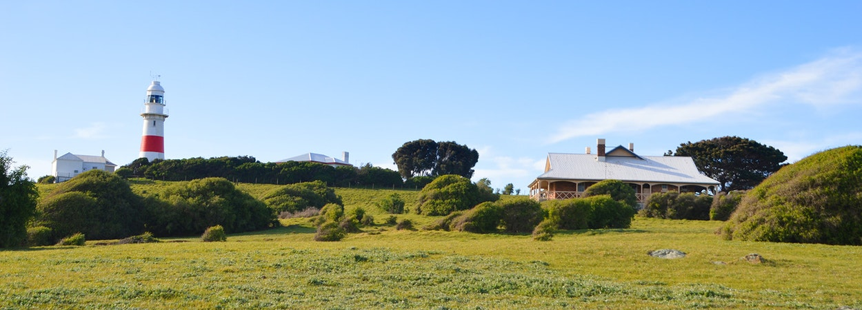 The Queenslander and Low Head lighthouse
