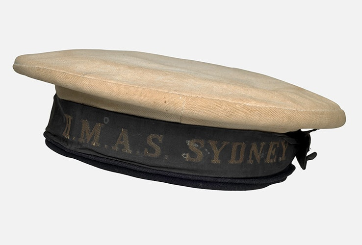 Old sailor's cap from the HMAS Sydney