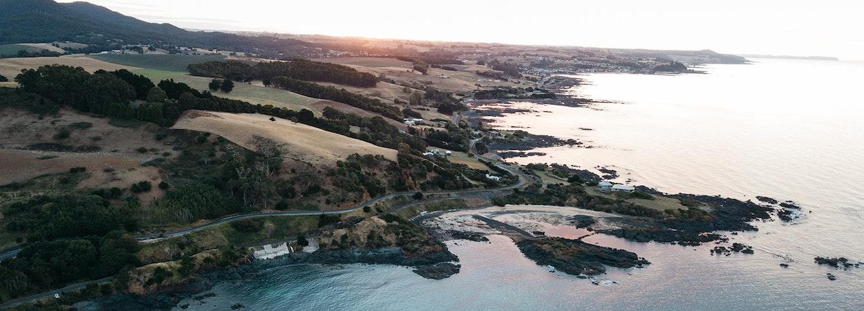 Tasmania's beautiful north-west coast