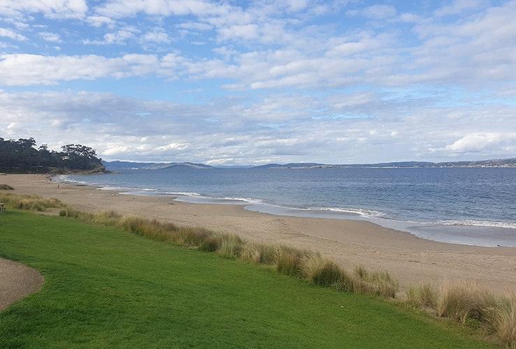 Blackmans Bay Beach.