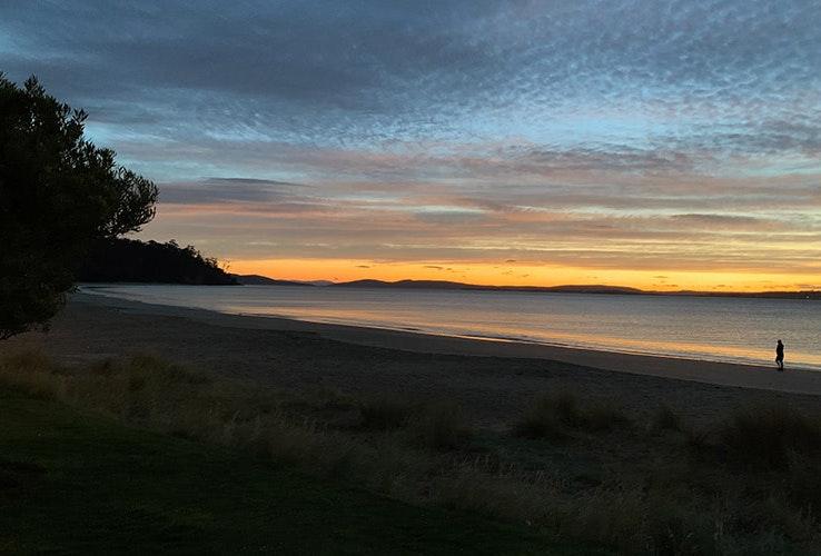 Morning at Kingston Beach.