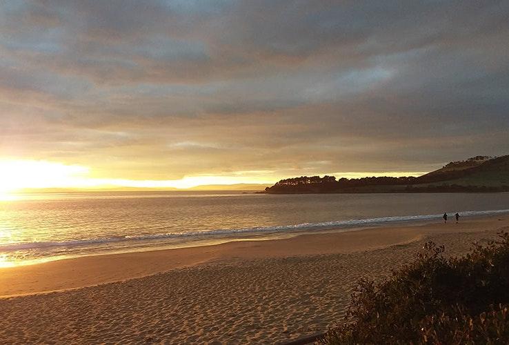 Sunrise at Cremorne Beach