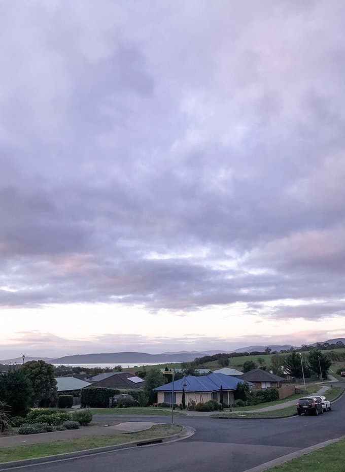 Cloudy sky over Huntingfield