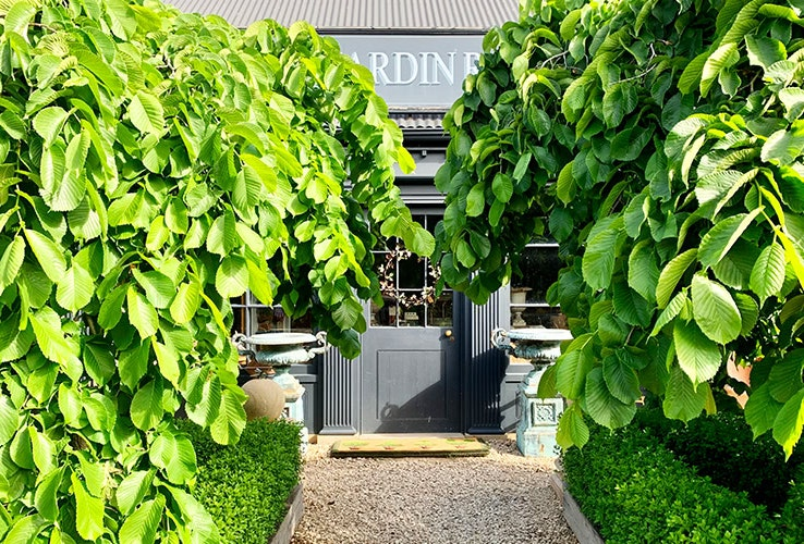 The beautiful exterior of The Jardin Room