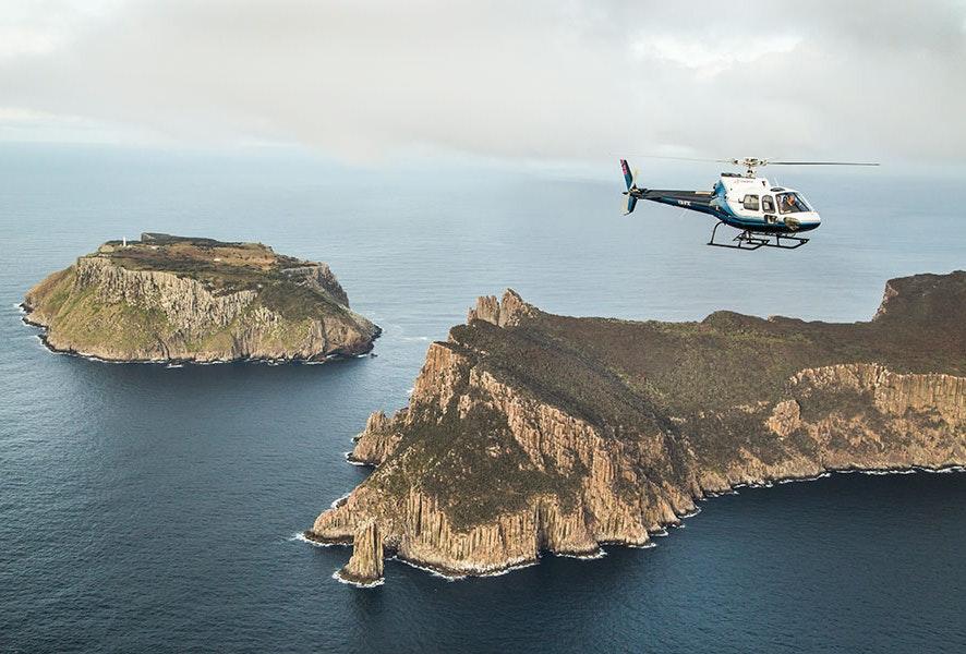 Ocean views over Cape Pillar