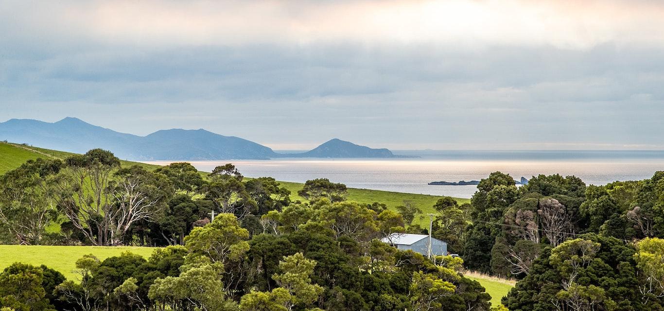 A view of Burnie.