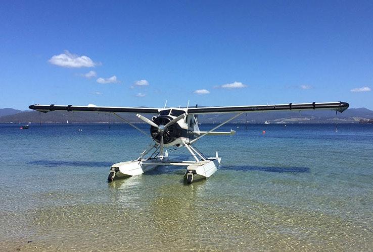Seaplane exterior.