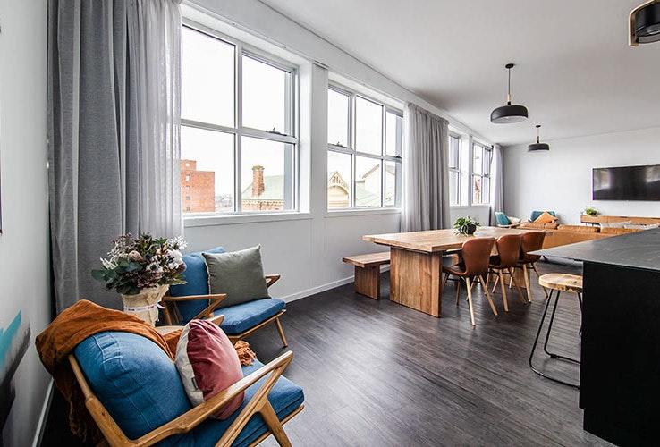 Change Overnight penthouse accomodation