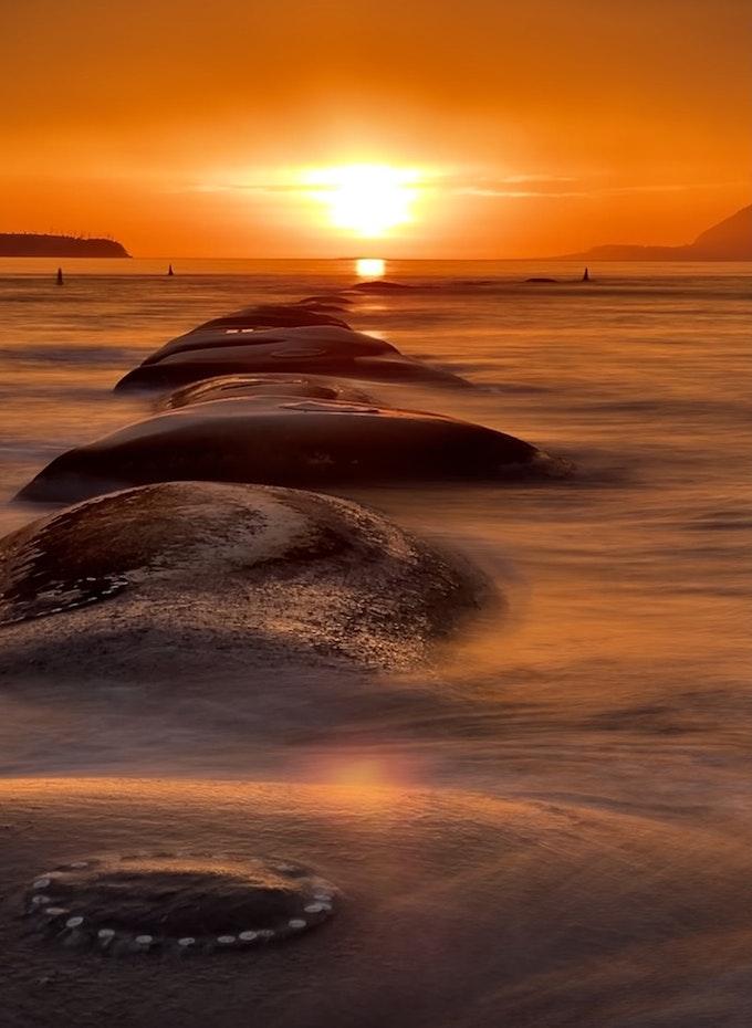 Alien sunrise at Orford
