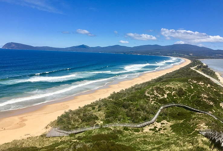 The Neck on Bruny Island