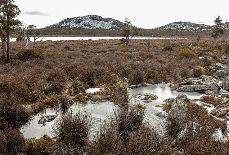 Mountains and wetlands in the Central Plateau