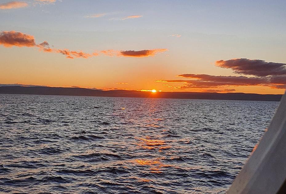 Sunset at Freycinet