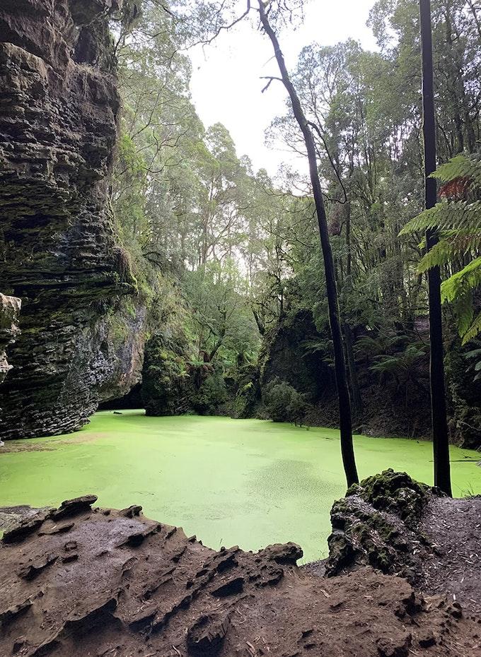 Green water at Trowutta Arch