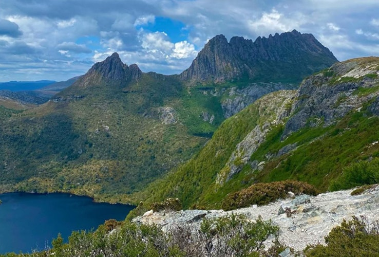 View of Marions Lookout, Cradle Mountain
