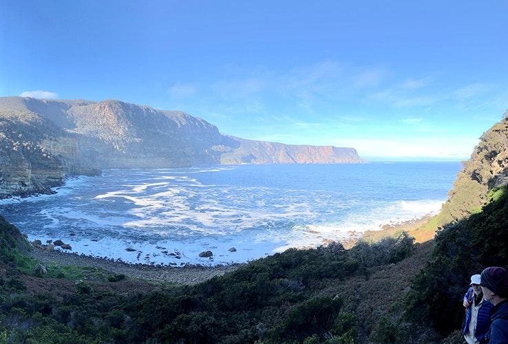 Ocean view.