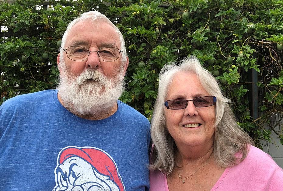 Robert and Lynne Hampson