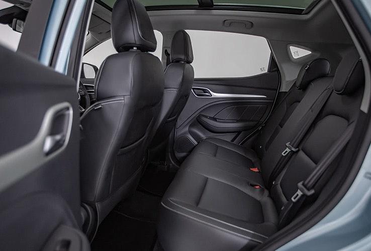 Car interior - rear seats.