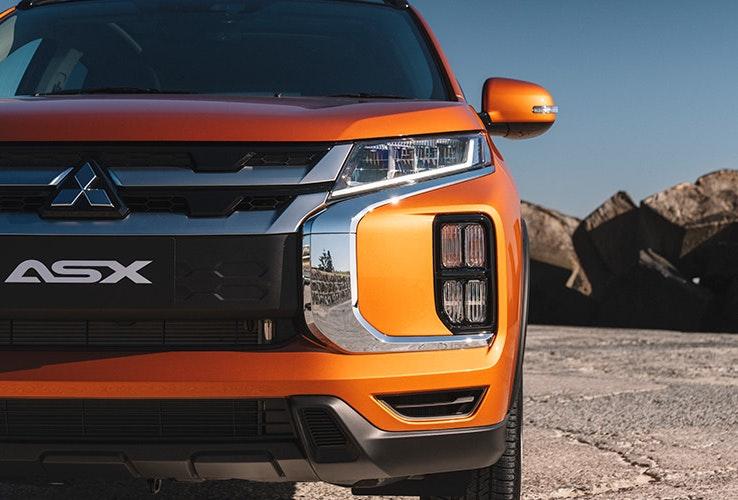 Orange Mitsubishi ASX