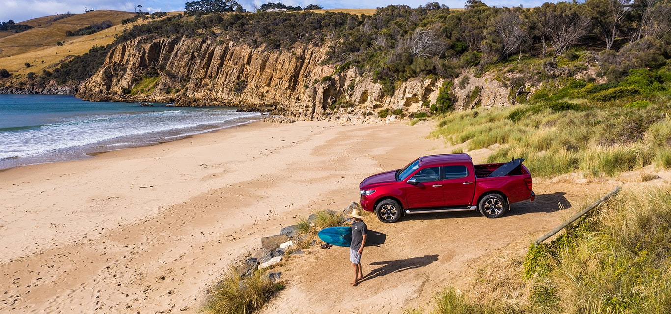 Chasing waves in the new Mazda BT-50