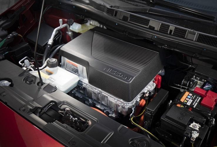 Nissan Leaf engine bay