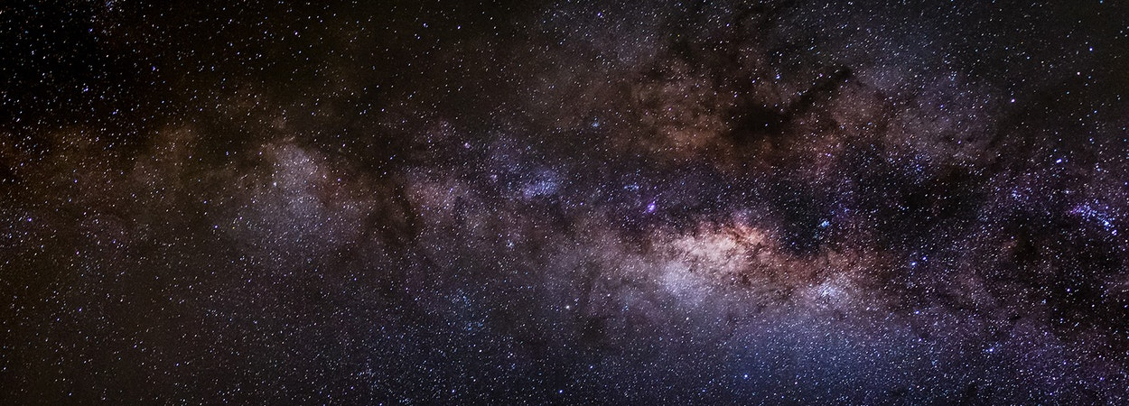 Bright time-lapse photo of The Milky Way