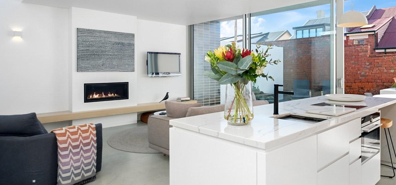Sullivans Cove Apartment interior