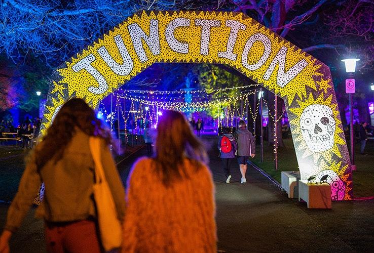 Junction Arts Festival arch