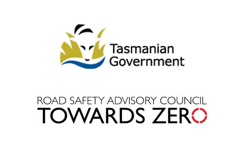 Tasmanian Government and Road Safety Advisory Council logos