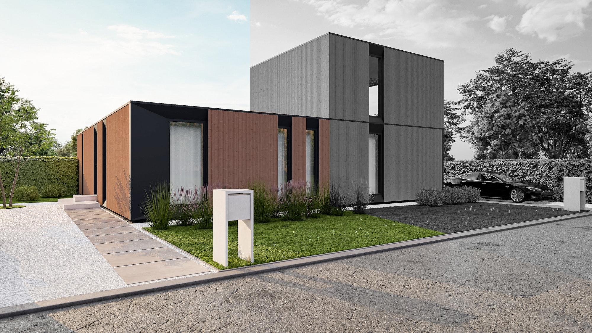 Nieuwbouw houtskelet Balen Ruiterweg woning 3