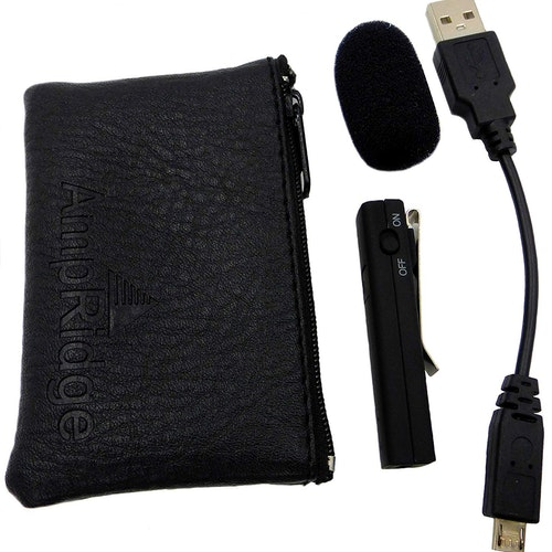 Image of Bluetooth clip-on microphone for smartphone - $60