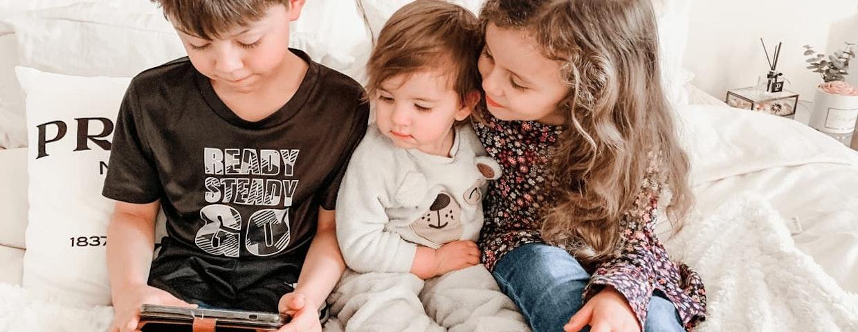 Tre syskon samarbetar med Albert