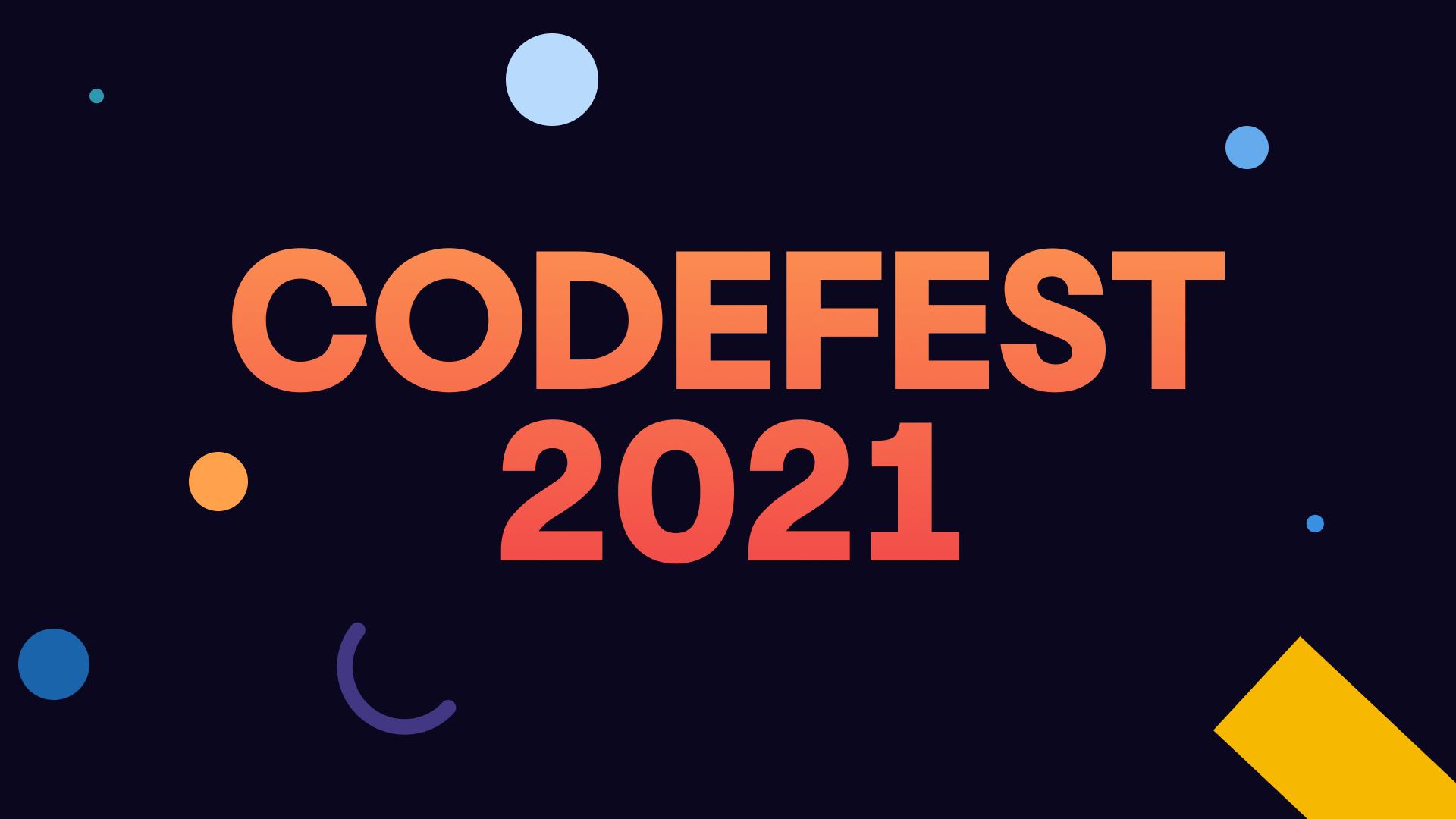 CodeFest 2021