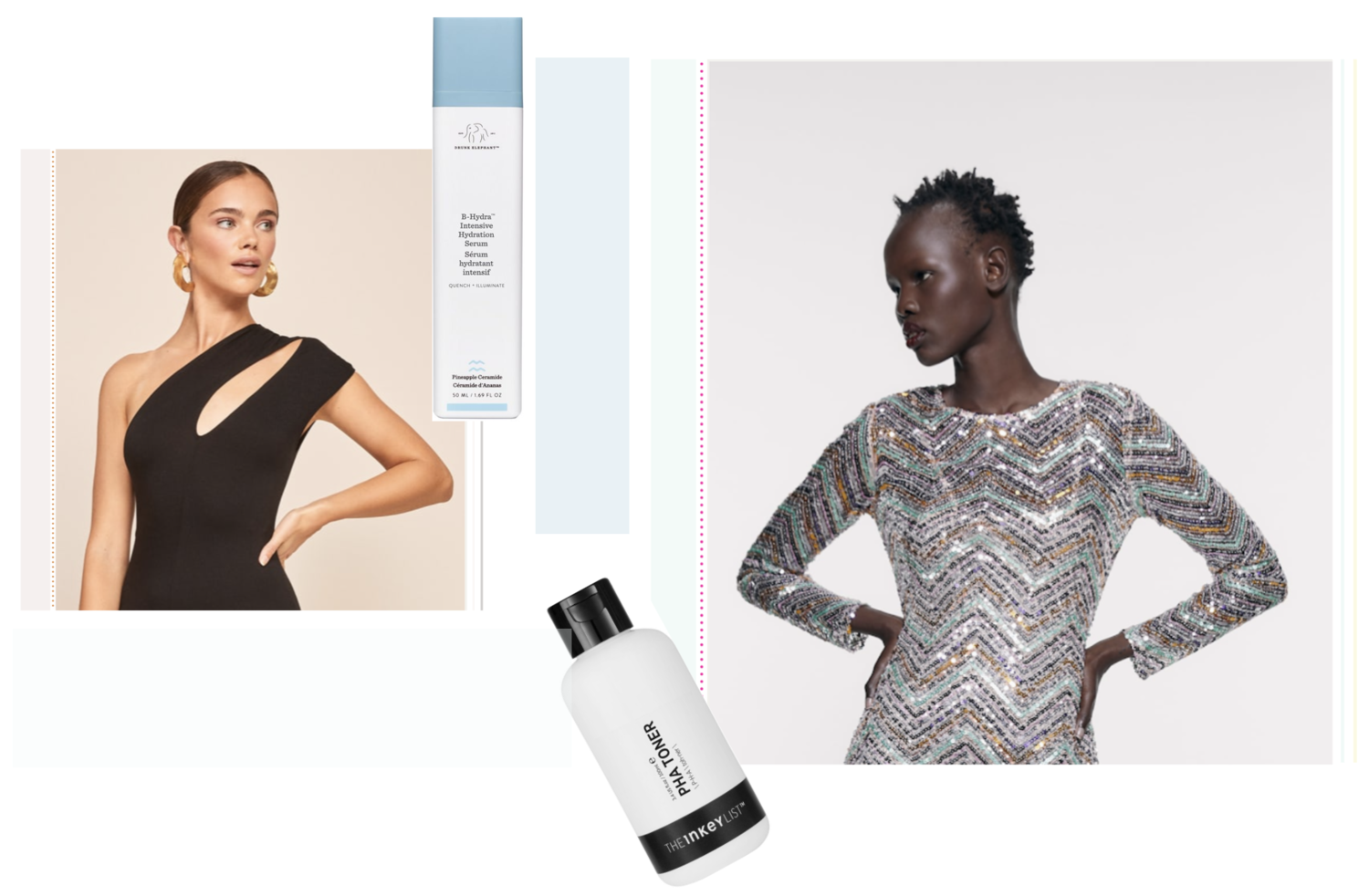 Party Dress x Skincare - Choose the Right Equation!
