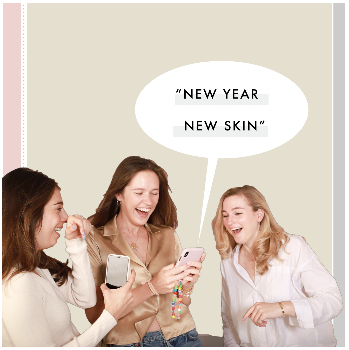 """New Year, New Skin"" lol"