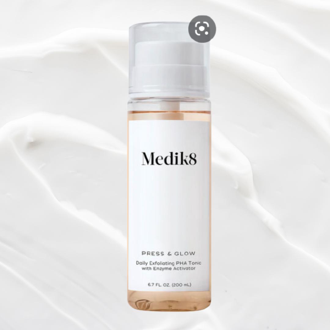 Medik8 Press & Glow Daily Exfoliating PHA Tonic