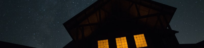 Star-lit House