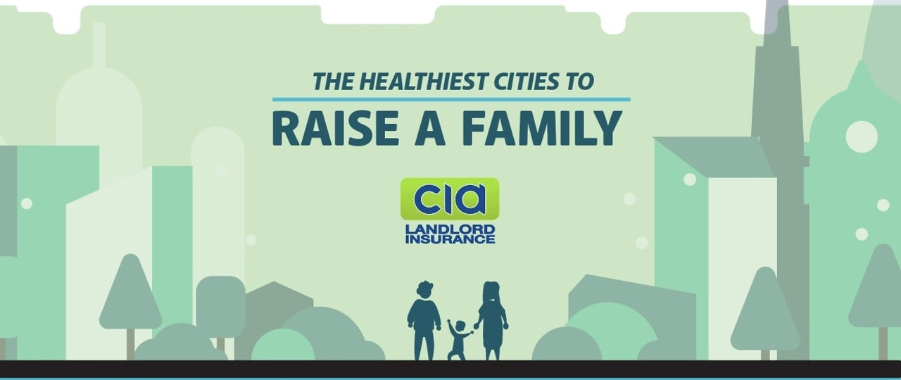 The Healthiest Cities to Raise A Family