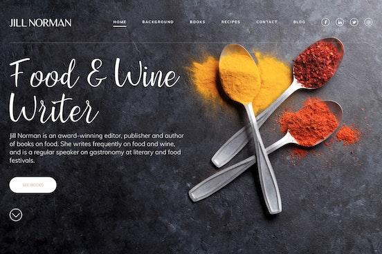 Jill Norman Screenshot Desktop