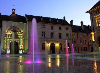 Place d'arçon à Pontarlier