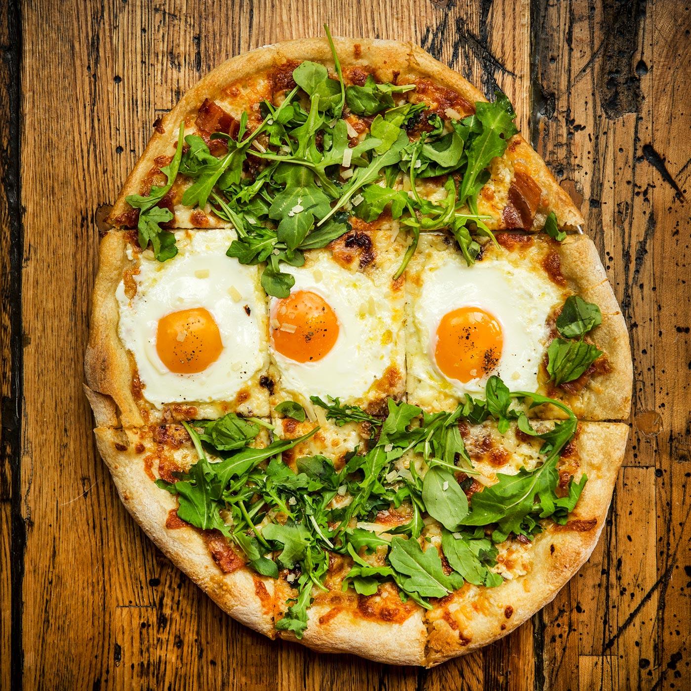 Pancetta w/ Eggs