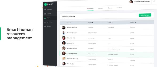 human resources management system kiwiHR