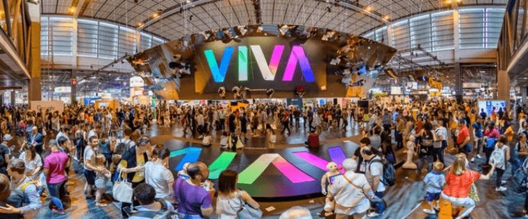 Startups gathered at Viva Technology