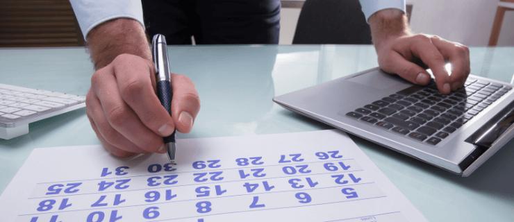 Urlaubsplanung mit excel und kalender