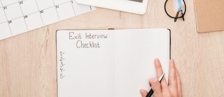 Austrittsgespräch Checkliste
