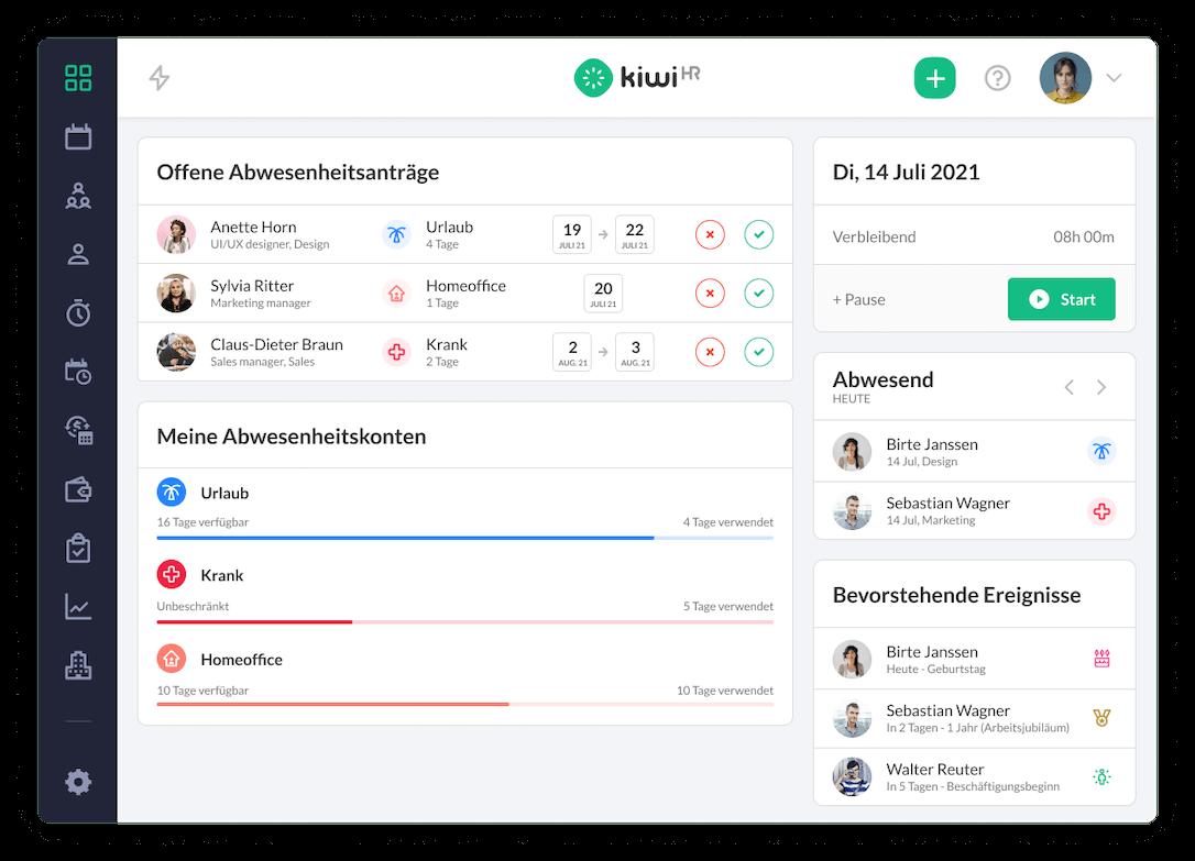 HR Software kiwiHR
